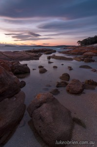 Sunset Coles Bay Photography Freycinet Workshop