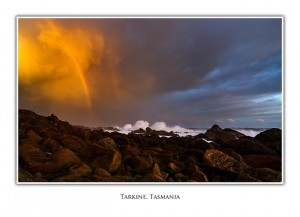 Tarkine Coast - Sunset Rainbow
