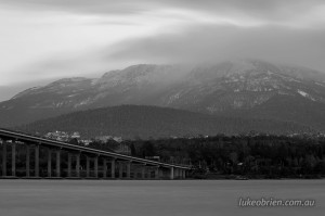 The Tasman Bridge & Mt Wellington