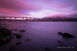 The Tasman Bridge & Mt Wellington, Hobart
