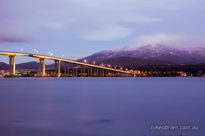Tasman Bridge & Mt Wellington, Hobart