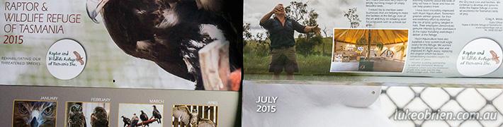 Tasmanian Raptor Calendar 2015