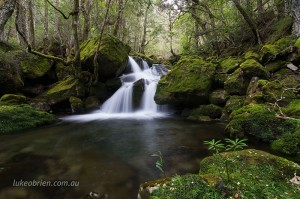 Waterfall Mother Cummings Rivulet Tasmania