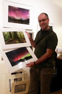 Dropping off some prints at Hobarts new Wild Island gallery