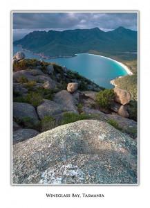 Wineglass Bay Tasmania Greeting Card
