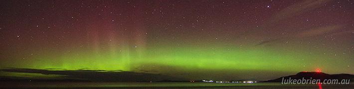 April 30 2014 Aurora Australis Tasmania – Timelapse