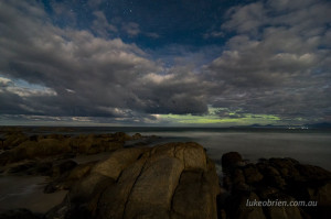 aurora australia bay of fires photography workshop