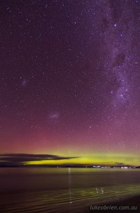 Southern Lights Tasmania May 20 2013