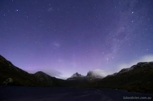 Aurora Australis Tasmania May 2013: Cradle Mountain May 1-2