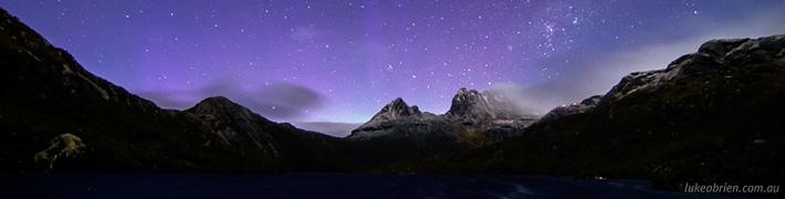 Aurora Australis Tasmania May 2013: Cradle Mountain!