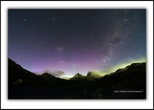 Aurora Australis Tasmania Fine Art Prints - Cradle Mountain