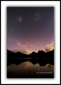 Aurora Australis Tasmania - Cradle Mountain, Nov 2013