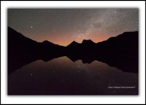 Aurora Australis Cradle Mountain Stars