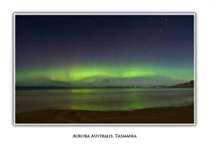 Tasmanian Greeting Cards - Aurora Australis