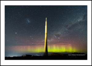 Aurora Tasmania Mt Wellington