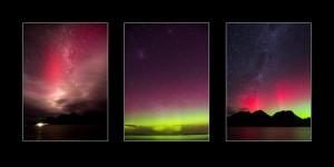 Aurora Australis Tasmania Photos