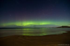 Aurora Australis Seven Mile Beach Tasmania