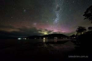 aurora australis tessellated pavements