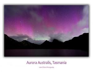 Aurora Australis Tasmania Cradle Mountain Postcard