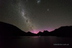 aurora australis cradle mountain tasmania