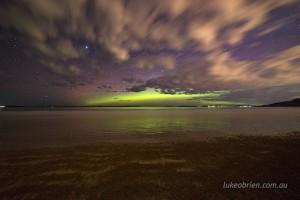 aurora seven mile beach tasmania