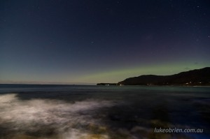 Chasing the Southern Lights in Tasmania