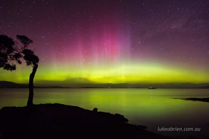 Aurora Tasmania October 7-8 2015