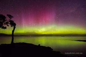 Aurora Australis Tasmania, October 7-8 2015