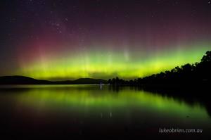 Aurora Australis Tasmania October 7-8 2015