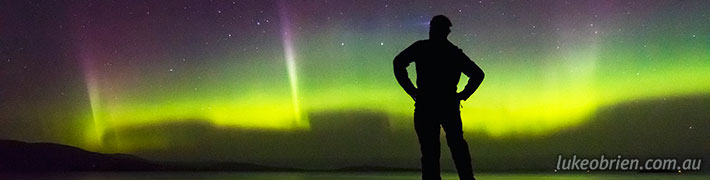Aurora Timelapse Tasmania – October 7-8 2015