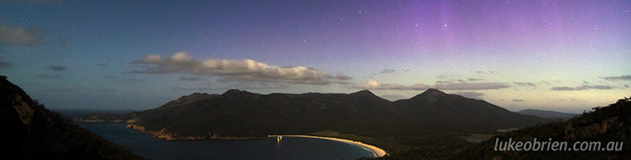 Wineglass Bay Aurora!