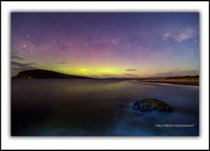 Aurora Australis Tasmania Fine Art Prints - South Arm