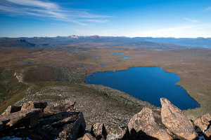 Barn Bluff Lake Will Overland Track