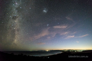 bay of fires night sky photos