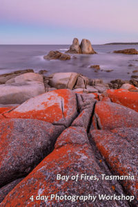 Bay of Fires 4 day photography workshop Tasmania