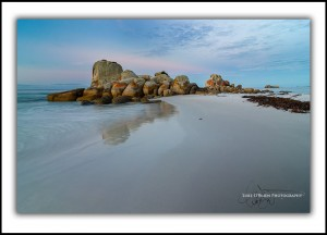 L 117: Bay of Fires, Picnic Rocks, Dusk