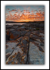 Bay of Fires Sunset