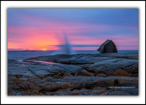 Bicheno Blowhole Tasmania Landscape Photography