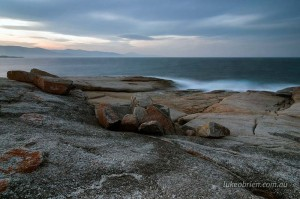 bicheno tasmania seascapes sunset