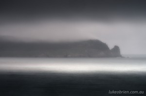 Dusk scene, Bruny Island