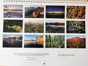 Tasmanian landscape 2022 calendar now available