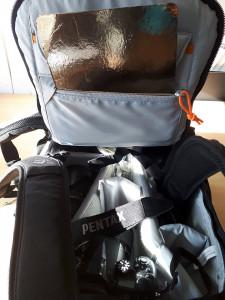 camera bag reflector