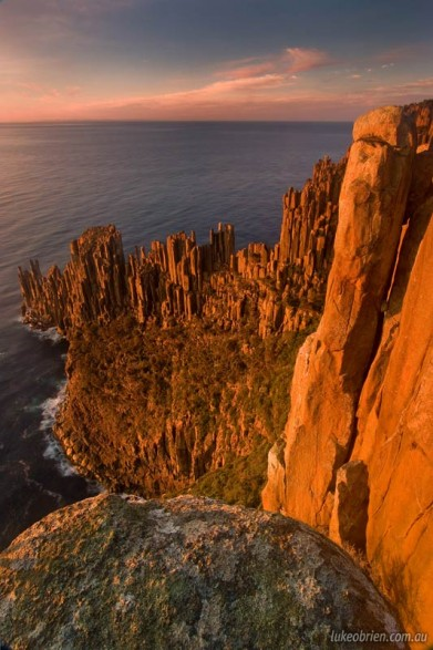 Morning, Cape Raoul, Tasman Peninsula