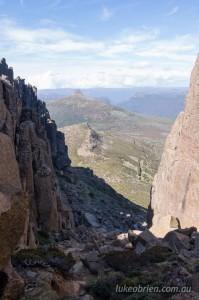 Climbing Mt Ossa