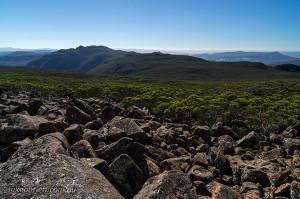 Mt Wellington hikes: Collins Bonnet from Thark Ridge, Mt Wellington