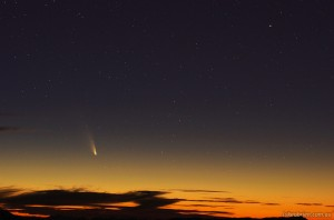 Comet PanSTARRS, Tasmania March 4 2013