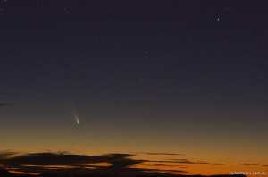 Comet Panstarrs Tasmania March 2013