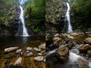 Composition tips for waterfall photography