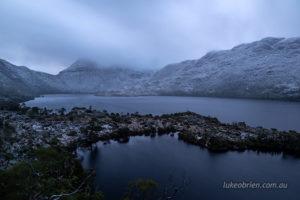 Snow, Cradle Mountain & Dove Lake
