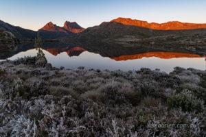 pentax pixel shift sunrise cradle mountain